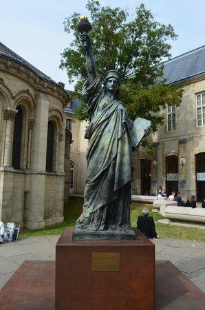 Musée des arts et métiers : Modelo da estátua da liberdade