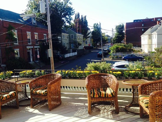 The Danforth: view from sitting room