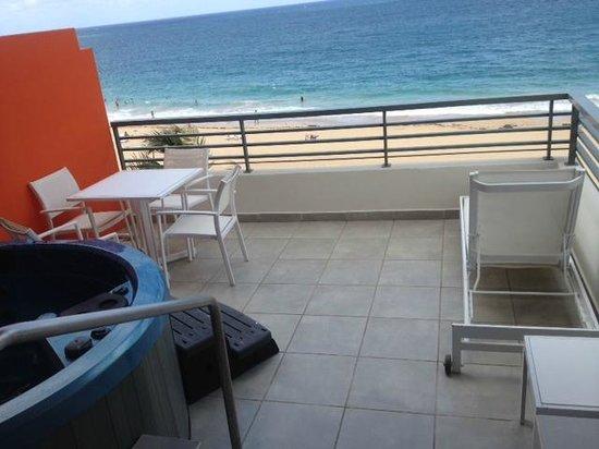 La concha deluxe room oceanfront
