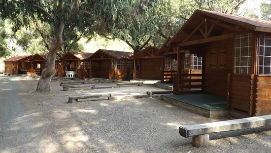 Camping D'Olzo : Alcuni chalet