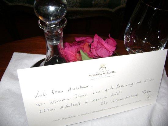 Boutique Hotel Vivenda Miranda: So thoughtful!