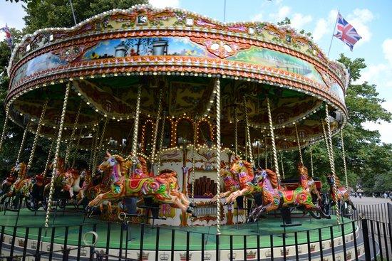 Kensington Gardens The Beautiful Carousel