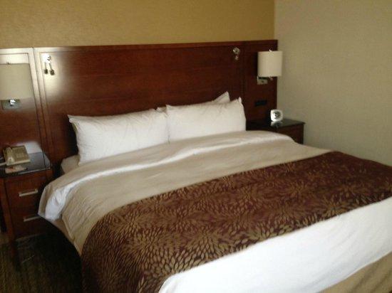 Detroit Marriott Livonia: Bed