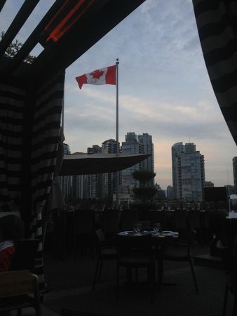 Granville Island Hotel: View from dining