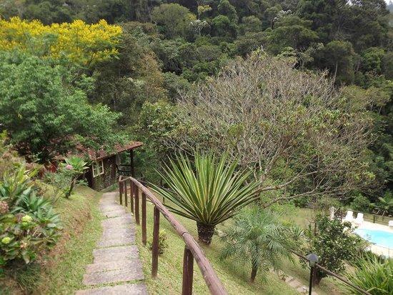 Pousada Sao Sarue Chales: Chalé Bromélias