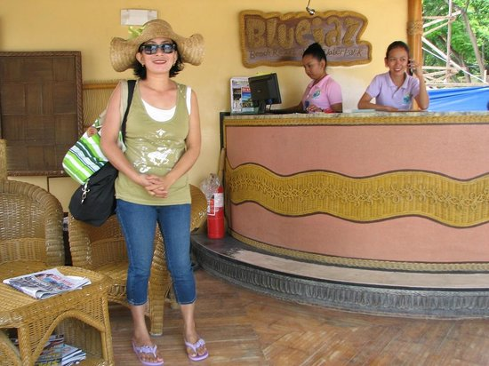 Bluejaz Beach Resort & Waterpark: Reception