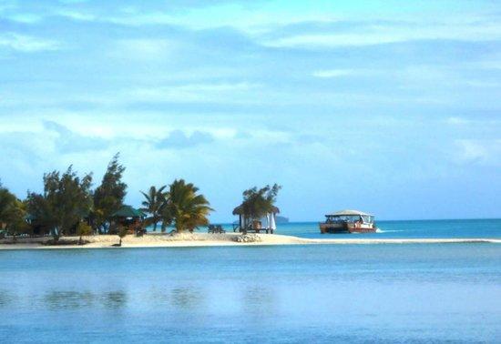 Aitutaki Lagoon Resort & Spa: degustation dinner site