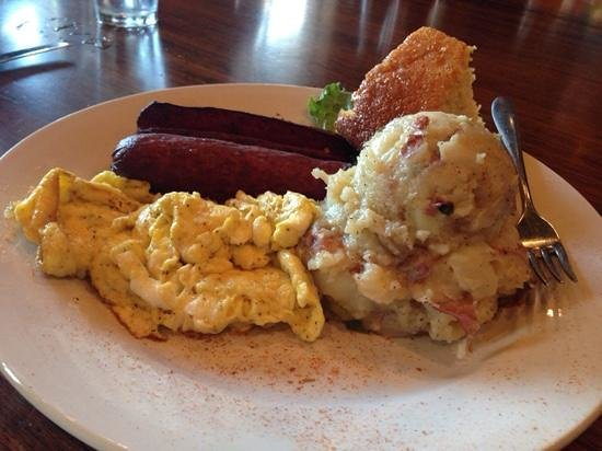 Croaker's Spot: Taters and Sausage
