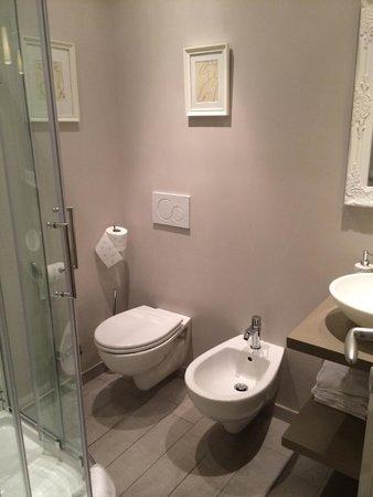 Althea Inn: Spotless and new bathroom