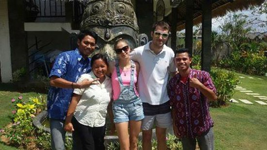 Hill Dance Bali, American Hotel: happy guest from russia