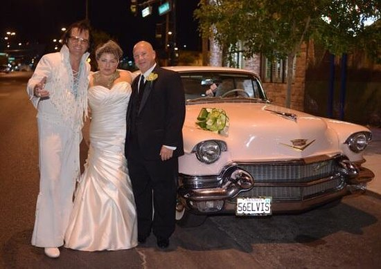 Vegas Weddings: We had a formal ceremony but we HAD to have Elvis officiate !