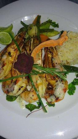 Steigenberger Aqua Magic: Grilled shrimps