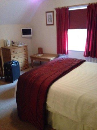 Bentley Brook Inn: Comfortable ensuite double bedroom