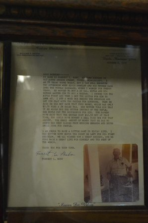 Tupelo Hardware Company: Letter:  how Elvis got his guitar