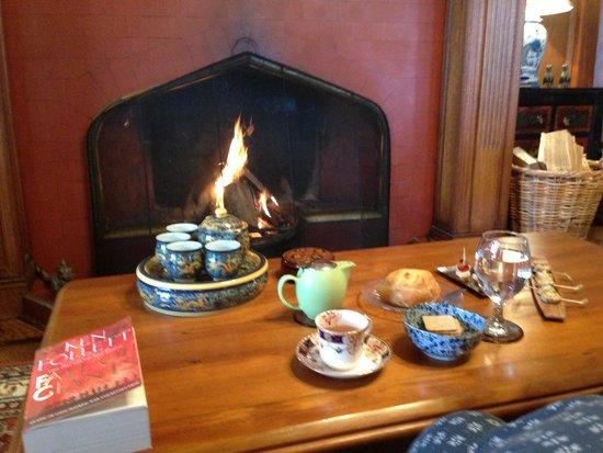 Pen-y-bryn Lodge: happy, happy travellers