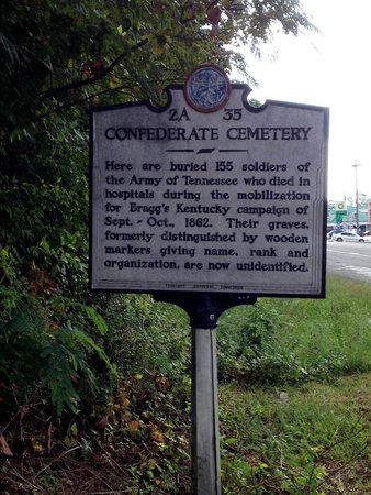 Silverdale Confederate Cemetery: Historical marker