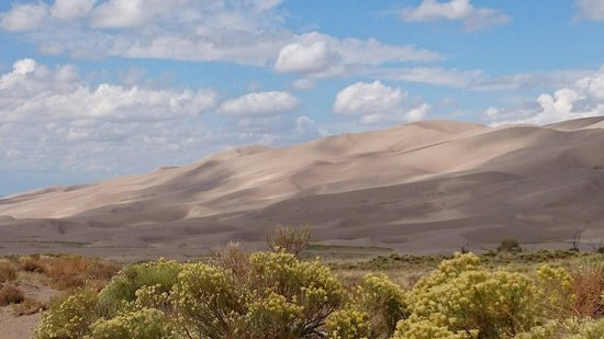 Great Sand Dunes National Park & Preserve, CO: Sand dunes from medano pass