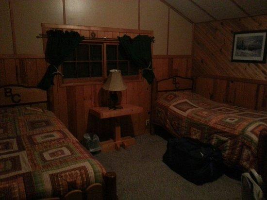 Bill Cody Ranch: Chambre lit simple Cabane n5