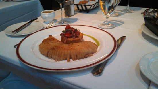 Bar Americain: Skate with Smoked Chili Butter