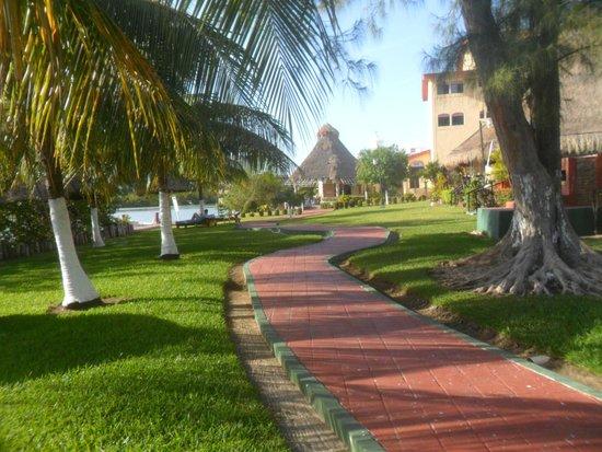 Cancun Clipper Club: Dentro del hotel