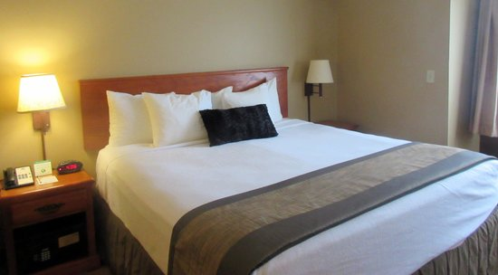 Comfortable King Size Bed, Best Western Plus Columbia River Inn, Cascade Locks, OR