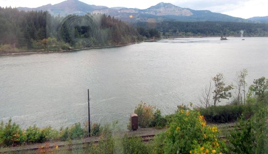 View from Room of Columbia River at Best Western Plus Columbia River Inn, Cascade Locks, OR