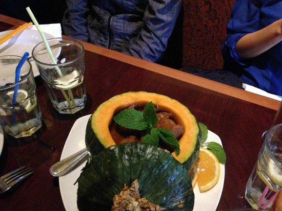 Mandalay : Pumpkin stew