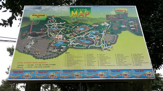 Map of the ciater hot water park picture of ciater hot spring ciater hot spring map of the ciater hot water park sciox Gallery