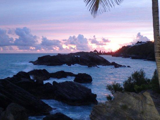 فيرمونت ساوثامبتون: Sunset from the Ocean Club