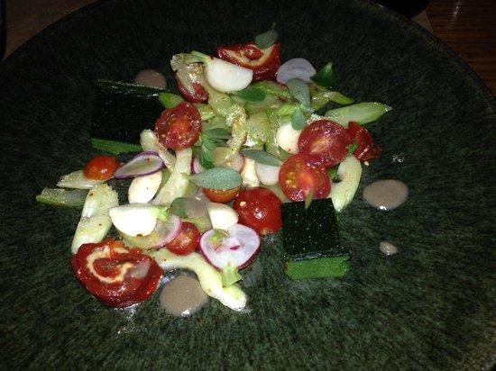 Cotogna: salad