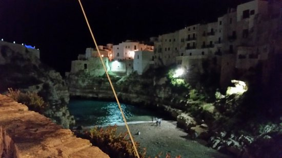 view from the terrace at Donna Gina