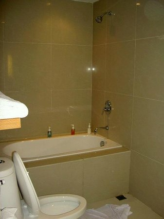 Hotel Selection Pattaya: Bathroom tub.