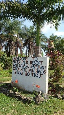 Super Palm Resort: Coconut walk