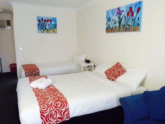 Aspley Motor Inn: Comfy beds