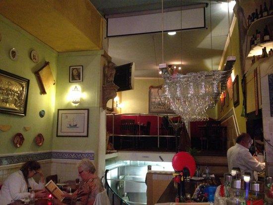 Restaurant de Portugees: L'interno del locale