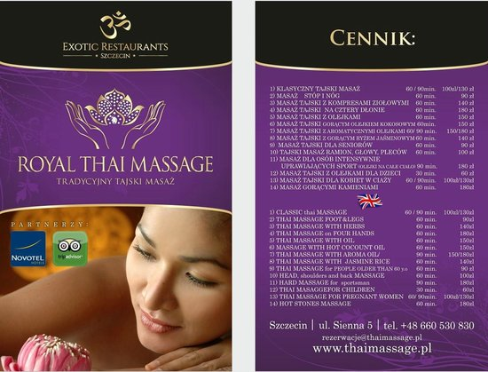 bedste thai massage royal thai massage copenhagen