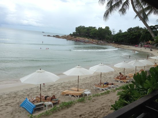 Samui Paradise Chaweng Beach Resort: view from room