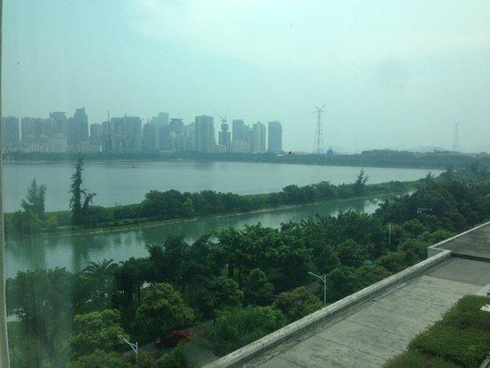 Marco Polo Xiamen: Вид из окна