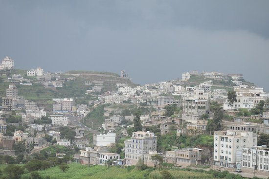 a right view fro the clouds from the hotel room picture of ibb