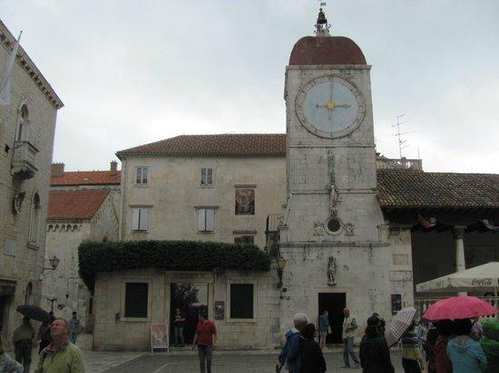 Loggia - Doorway: Clock Tower, Trogir