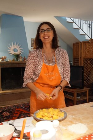 Let's cook in Umbria: Our cooking teacher