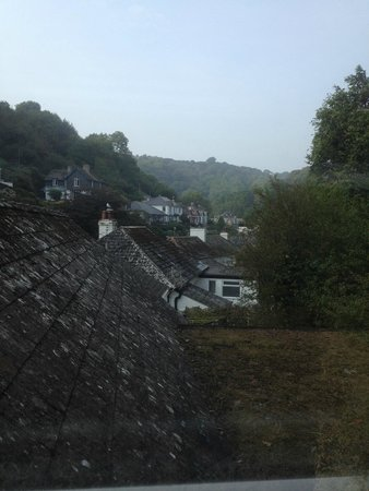 Penryn House Hotel: The view from the window of room 8