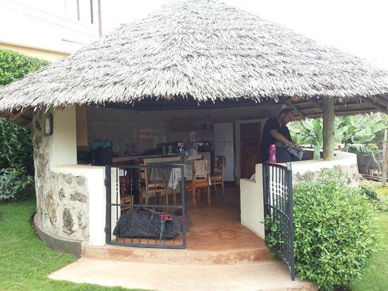 Baraka Lodge: Dining area