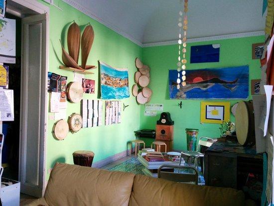A Casa di Amici Bed and Breakfast: Sala relax