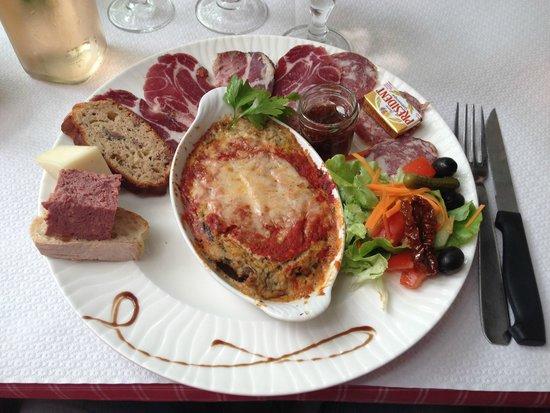 A Pergola: L'assiette dégustation