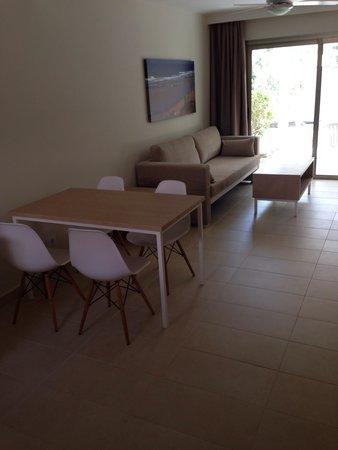 Eden Apartments: Living area