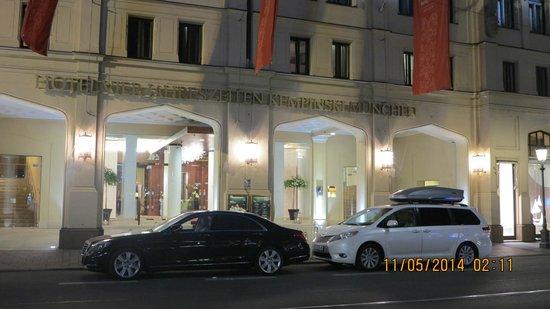 Hotel Vier Jahreszeiten Kempinski München: Отель Кемпински 5* в Мюнхене