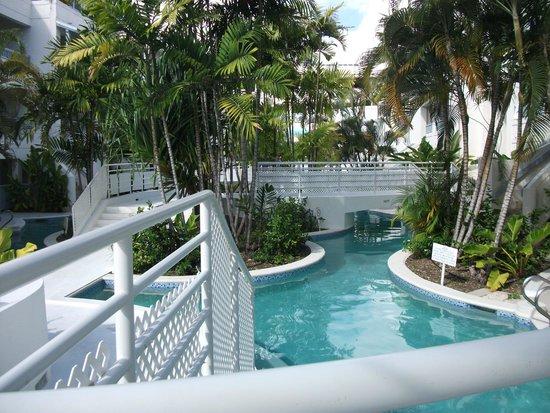 Savannah Beach Hotel Lovely Lazy River Pool