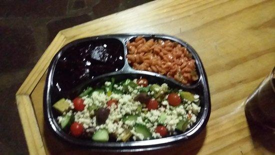 Ko-Ka Tsara Bush Camp: Lovely salad and braai packs made to order