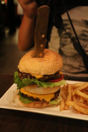 Colossal Burger Picture Of Ruby Tuesday Shatin Hong